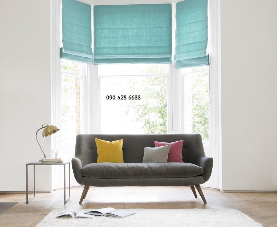 Chọn mẫu rèm roman hiện đại và mành tre trúc chống nắng phù hợp