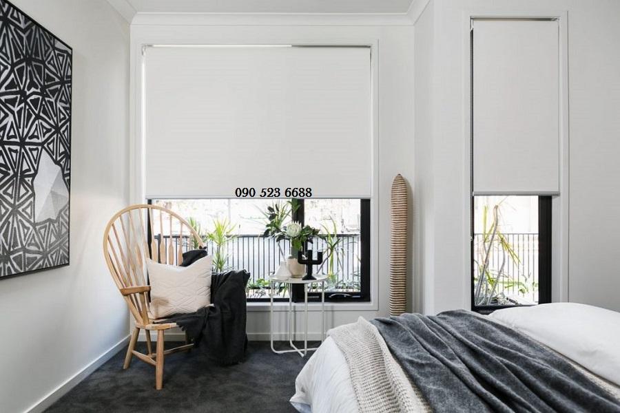 Rèm cửa cuốn hiện đại, rèm vải hiện đại chống nắng giá rẻ